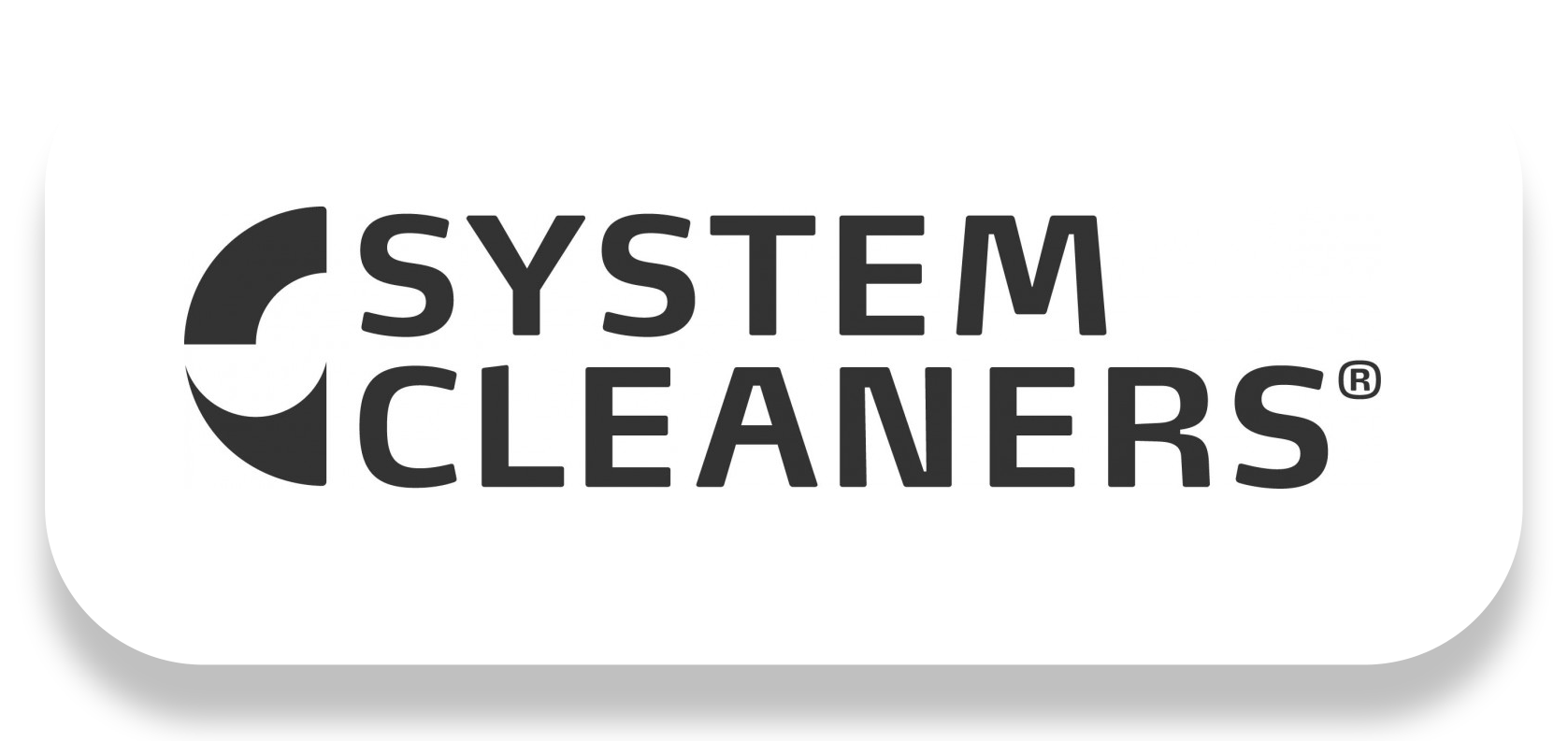 System Cleaners logo shadow